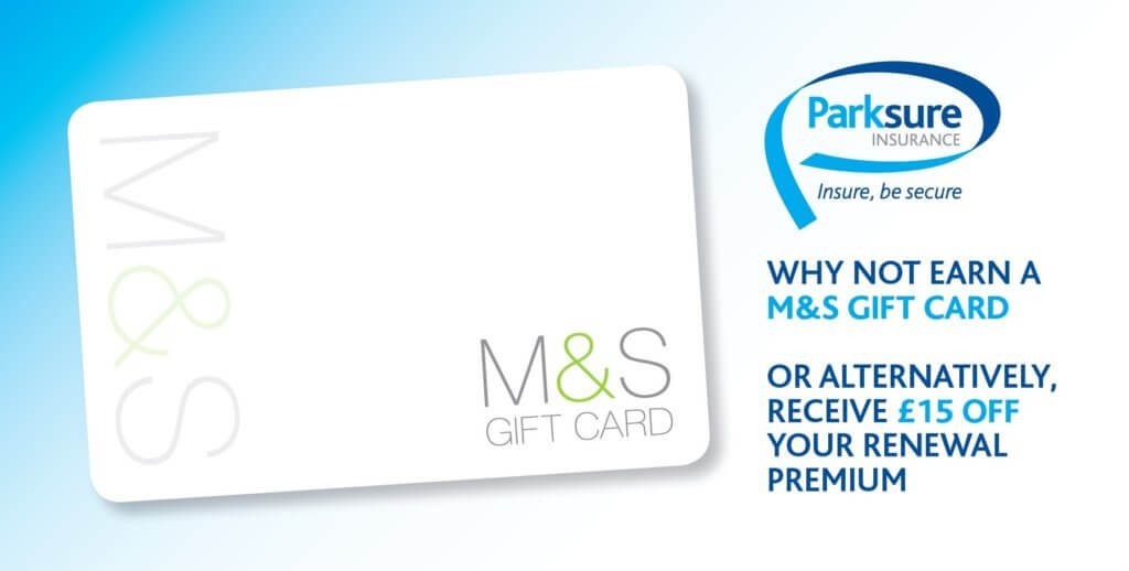 Recommend a Friend and get a £10 M&S Voucher or £15 off your next renewal with us